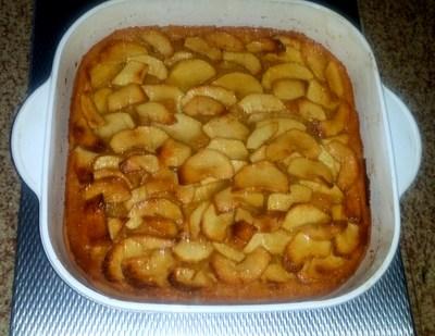 tarta facil manzana