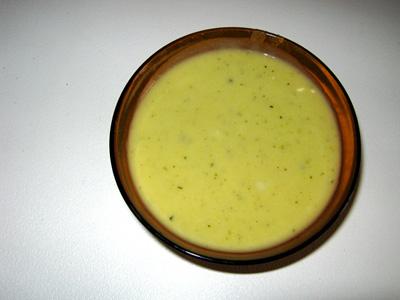 crema-calabacin y esparragos