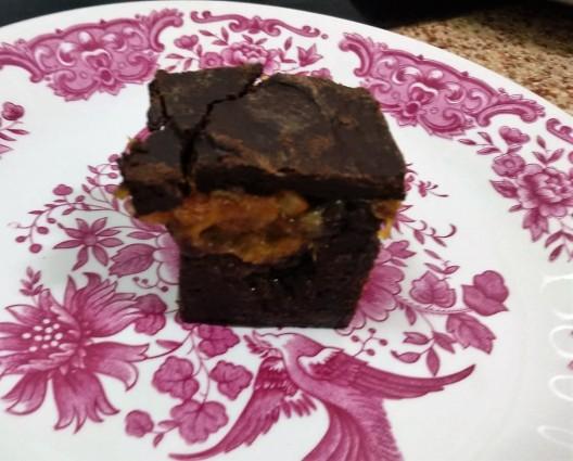 delicia de chocolate con naranja